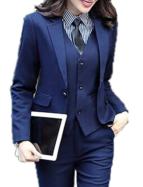 WZW - Conjunto de Traje de Oficina para Mujer 91369a233721