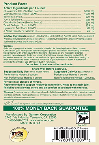 Pictures of NaturVet ArthriSoothe-GOLD Advanced Joint FormulaHorses 32 79901009 3