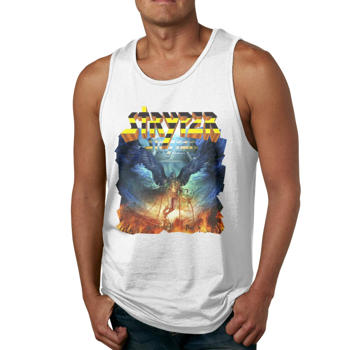 Seuriamin Stryper No More Hell To Pay S Summer Walk Sleeveless Tank Top T Shirts