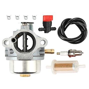 am132119 carburador am119661 am121865 Carb con filtro de combustible bujías para Kohler John Deere STX30 STX38