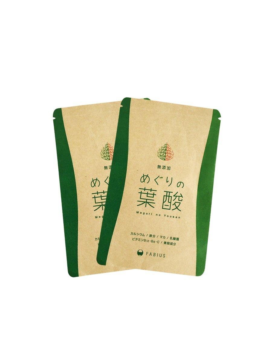 めぐりの葉酸 5袋セット B074FVTL9F 5袋セット  5袋セット