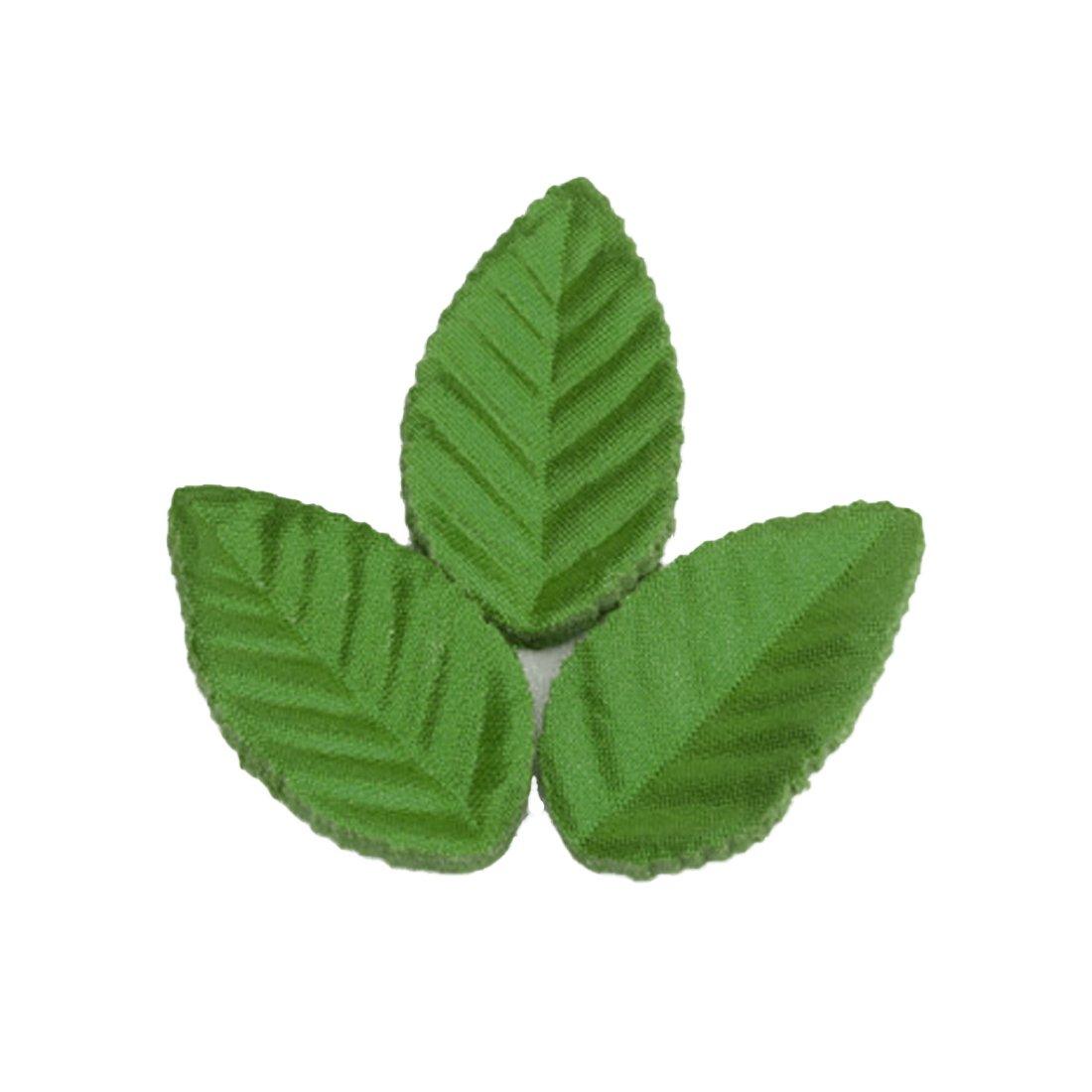 160/pcs Vert de No/ël Feuilles artificielles compatible pour d/écoration de mariage Feuille de rose