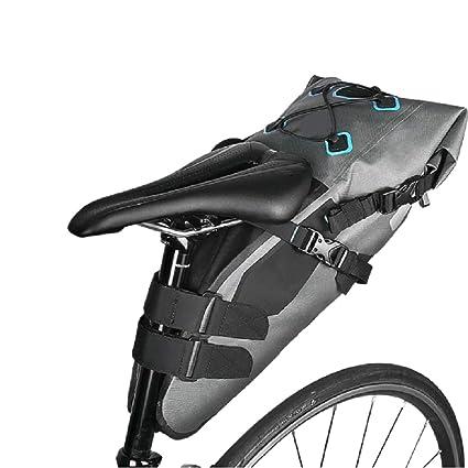 BOLSAS de sillín de Bicicleta Totalmente Impermeable 7L ...