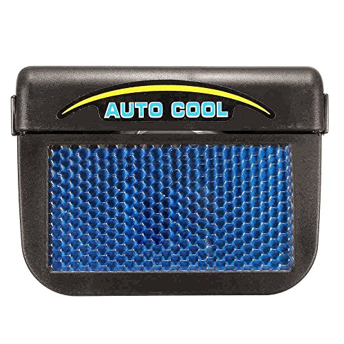 Amazon Solar Powered Car Cooling Fan System Truck Window Windshield Auto Air Vent Ventilator Cooler ABS Electronics