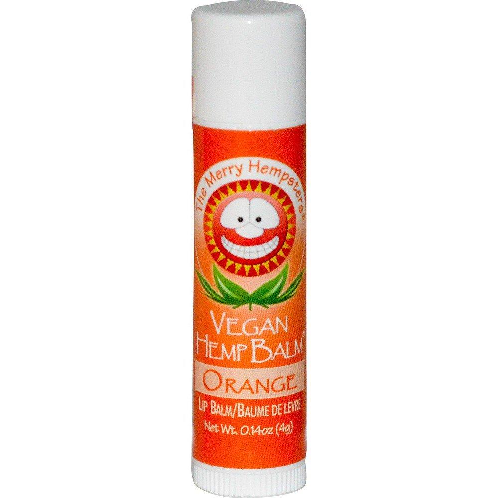 Vegan Hemp Lip Balm by Merry Hempsters - 0.14 oz, Orange 009030000073