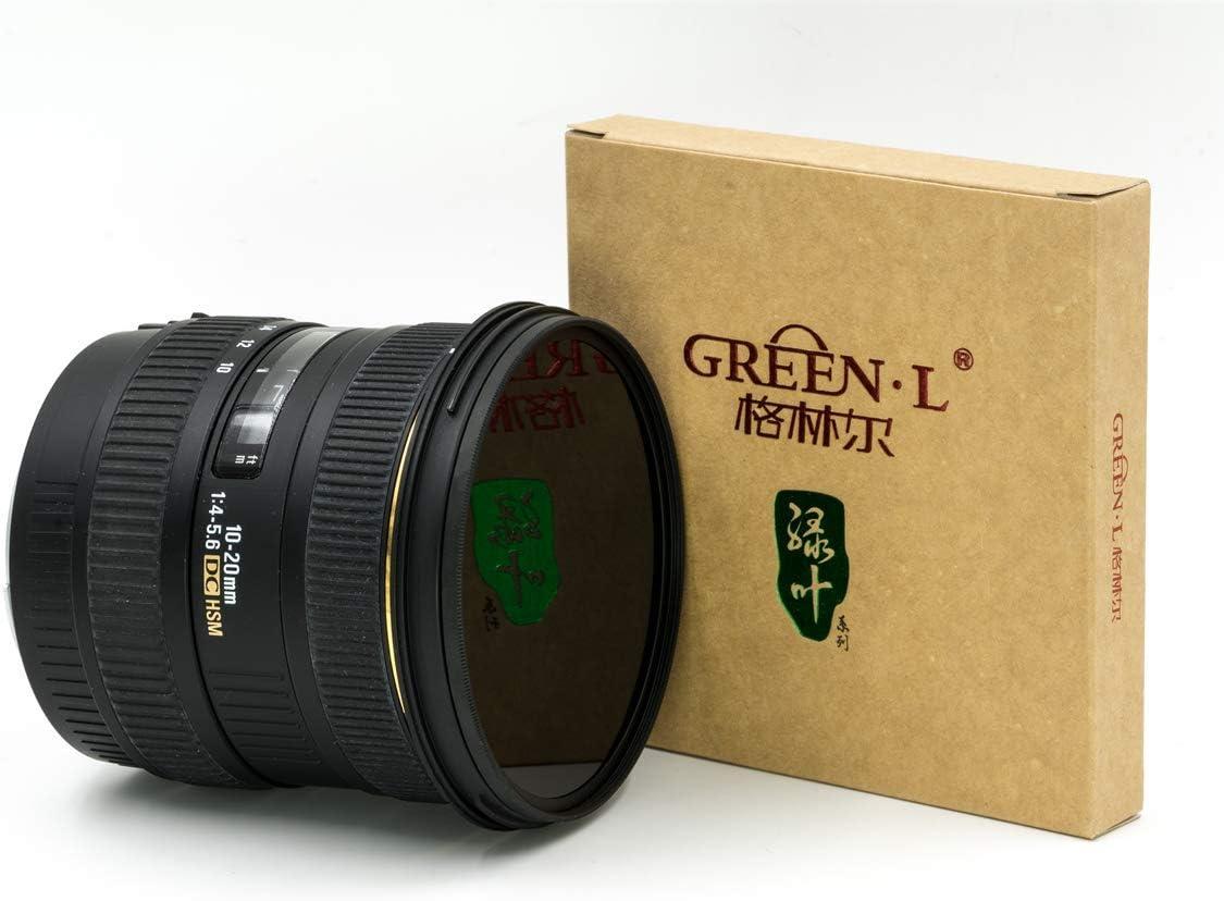 Green.L 62mm IR 760 Glass Infrared X-Ray Filter 760nm IR Filter for Camera Lens Digital DSLR SLR