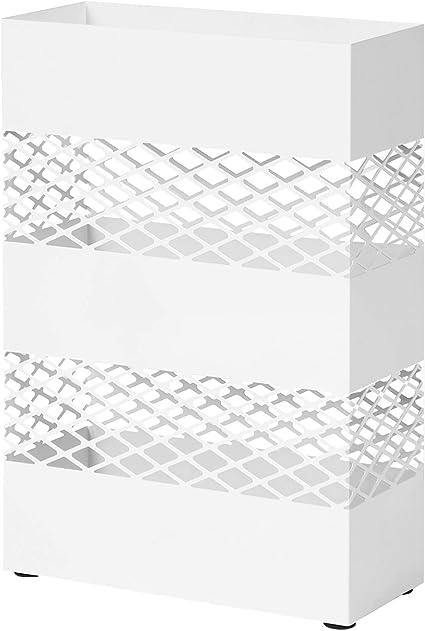 Metallo portaombrelli Titolare Veranda autoportante Contenitore Ombrello organizzatore con vaschetta raccogligocce Estraibile,doro Gaojian Moderno Geometria portaombrelli