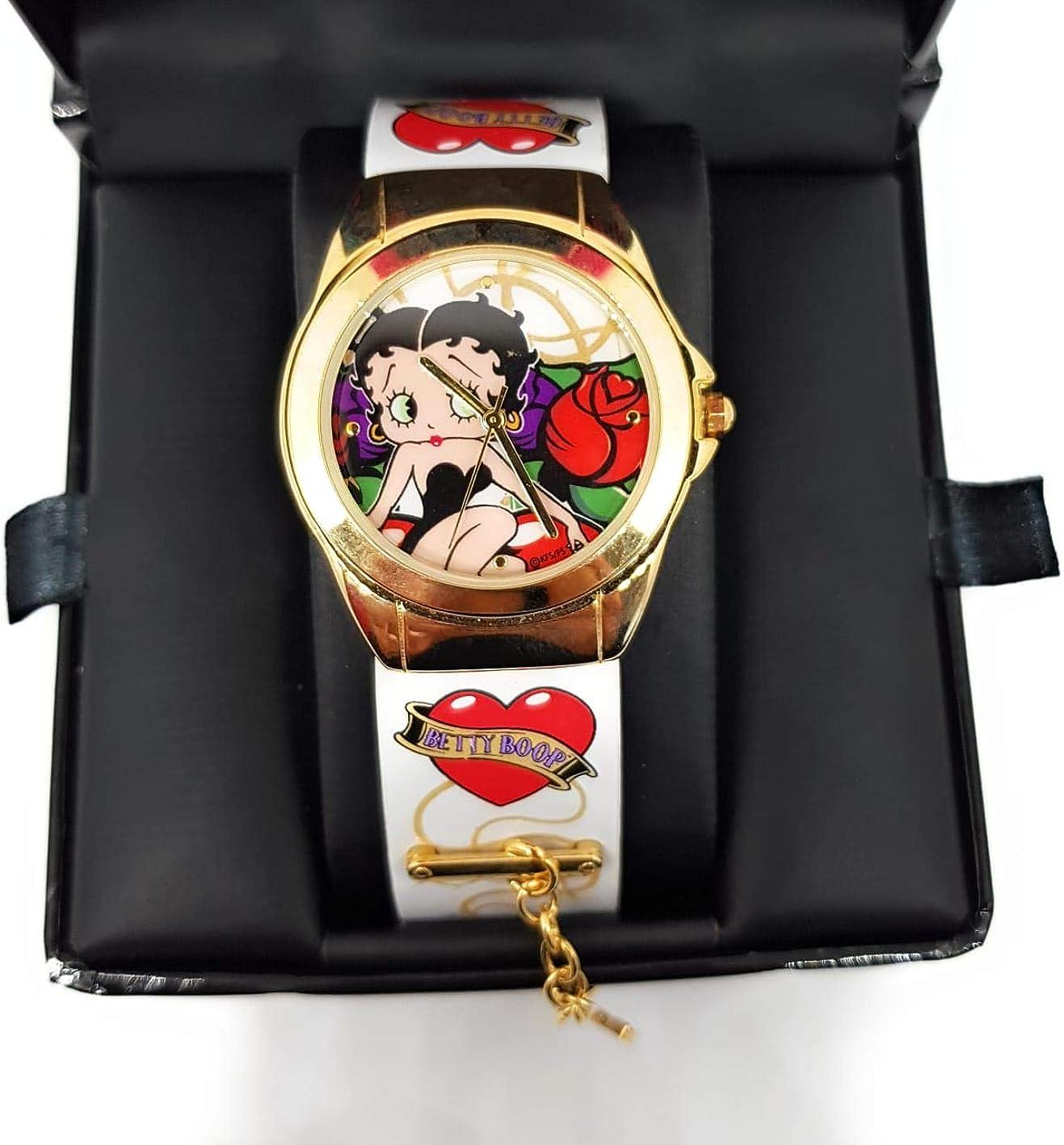Collection officielle de montres Betty Boop Deluxe Heart Breaker