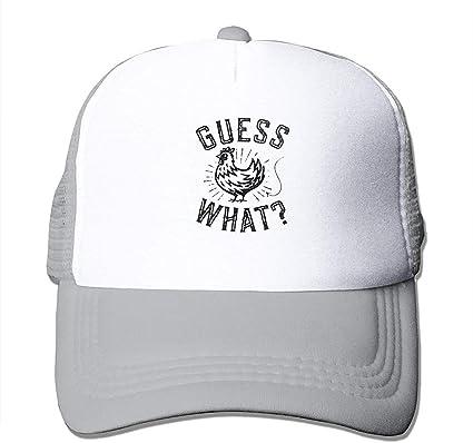 Guess What Chicken Truck Hats Mesh Mesh Black Gorras de béisbol al ...