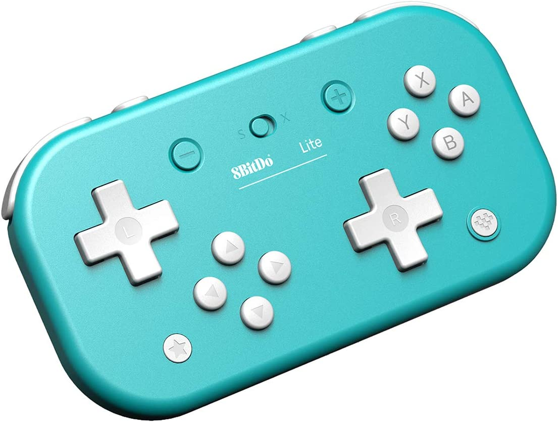 8Bitdo - Mando Wireless Switch Lite Azul (Nintendo Switch): Amazon.es: Videojuegos
