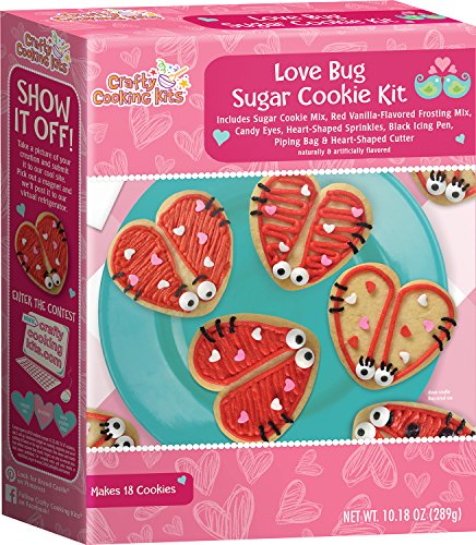 Love Bug Sugar Cookie Kit | Valentines Fun for All Ages