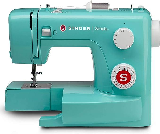SINGER Simple 3223G - Máquina de coser (Turquesa, Máquina de coser ...
