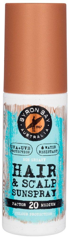 Byron Bay, spray LFS 20con protezione UV, per capelli e cuoio capelluto, 100ml [etichetta in lingua italiana non garantita] BYRON BAY SUNCARE