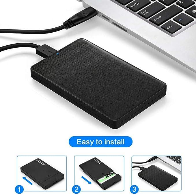 Amazon.com: Plaid Design - Caja de disco duro para disco ...