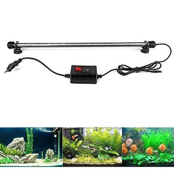 Aquariumlampe 15w 220v Unterwasser Beleuchtung Wasserdicht Led Aquarium Beleuchtung & Abdeckungen