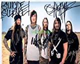 #1: SUICIDE SILENCE band reprint SIGNED autographed photo Mitch Lucker RP
