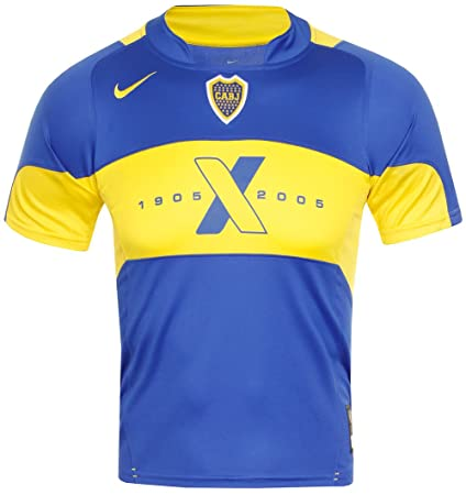 reputable site 721be 547fb Nike CA Boca Juniors Trikot Home 2005 Kindergröße