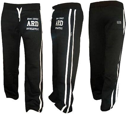 Mens Tracksuit Pants Active Trouser Jogging Sweat Bottom Grey Athletics Exercise