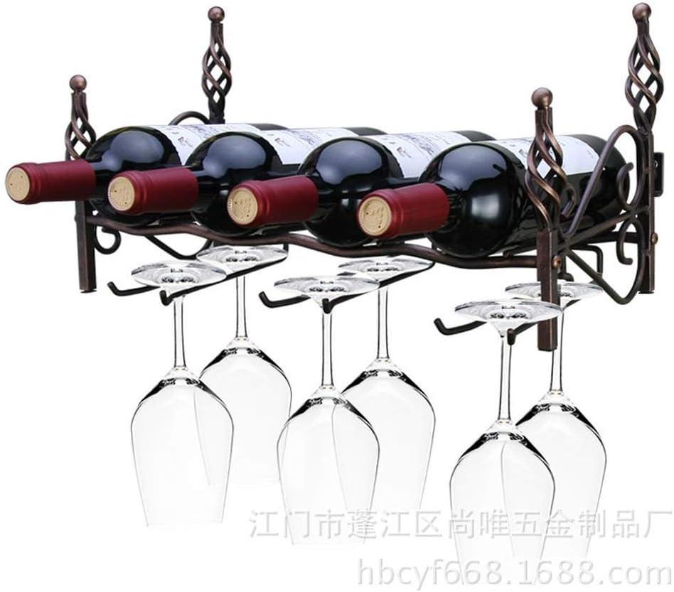 ZGQA-GQA ハンギングワインは大容量ワインラック41 X 19 X 22CM赤ワインラックをラック