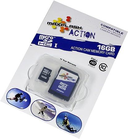 Tarjeta de memoria 16GB para Canon EOS 500D, Clase 10, soporte Ultra HD;