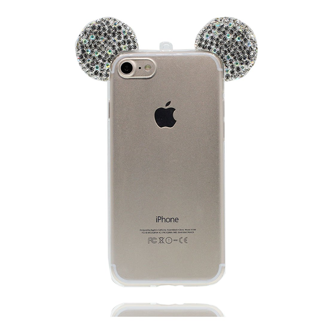 f77a9eb4bc9 YuanYuZhongPhoneSky iPhone 6 Carcasa, iPhone 6s Funda Premium TPU  Transparente de Silicona en iPhone 6S Case [Ajustado] [Shock Absorption]:  Amazon.es: ...