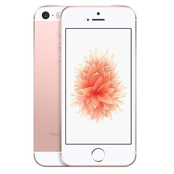 347096f18d1 Amazon.com: Apple iPhone SE, GSM Unlocked Phone, 16GB - Rose Gold ...