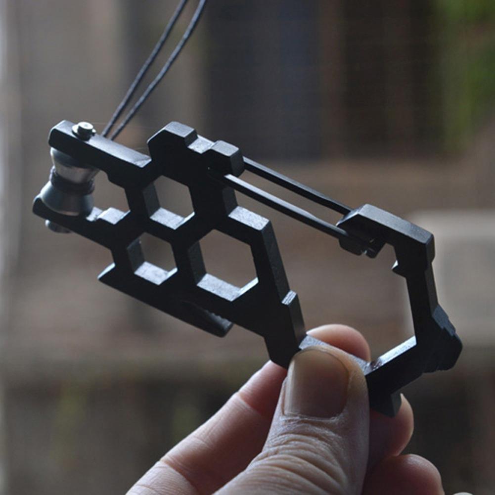Outdoor Sport EDC Multi Werkzeug Riemenscheibe System Edelstahl Karabiner Opener