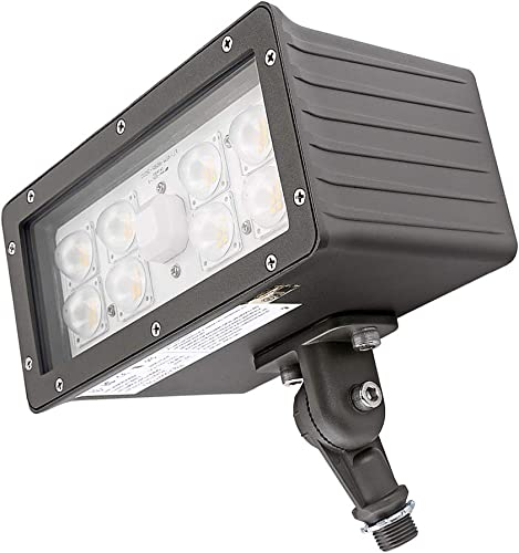1000LED LED Flood Light High Lumens 70W 8,050Lm Daylight 5000K AC110-277V Waterproof IP65 UL DLC Listed for Wall Light Security Backyard Area