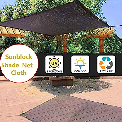 Red De Sombra Negro,Tasa De Sombreado 85% Malla Sombreadora,Toldo Vela De Sombra Rectangular Prevención Rayos UV Solar Protección,Transpirable,para Jardín/Patio/Planta(4m X 3m): Amazon.es: Hogar