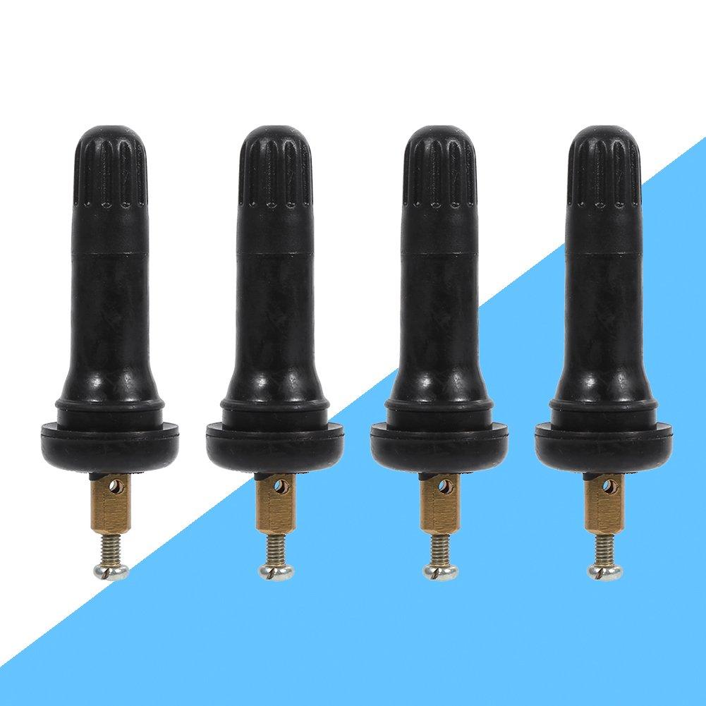 4 valvole a scatto per pneumatici sistema di monitoraggio della pressione degli pneumatici valvola con sensore TPMS