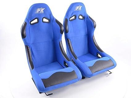 Conjunto de asientos deportivos Basic. 1 x Asiento conductor ...