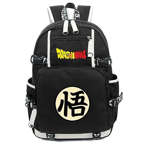 40d31b83a10 Siawasey Dragon Ball Z Anime Goku Cosplay Backpack Shoulder Bag School Bag