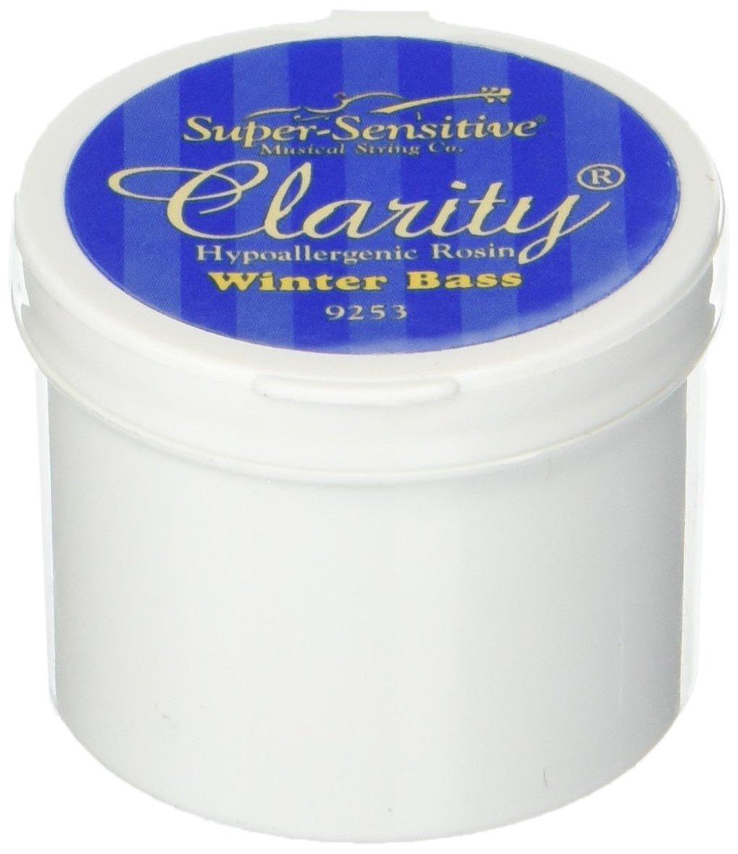 Super-Sensitive 9253 Clarity Rosin, Winter Bass