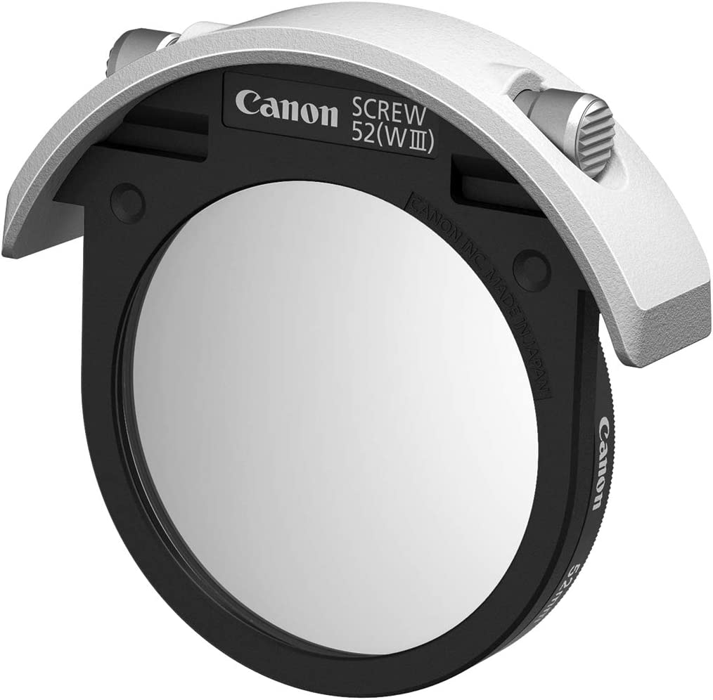 Canon Drop-In Screw Filter Holder 52 WIII with Protector Filter