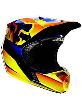 Fox Casco V3 Flight Naranja Talla M