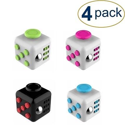 Fidget Cube 4 Pack