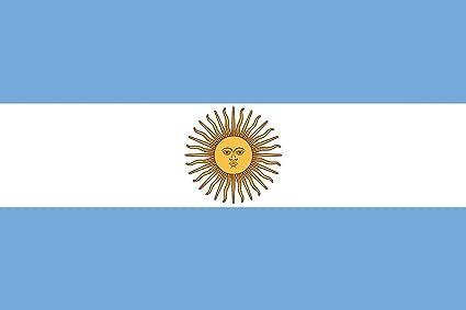 Bandera de Argentina Bandera de poliéster DE 5 * 3 pies/150 * 90 cm