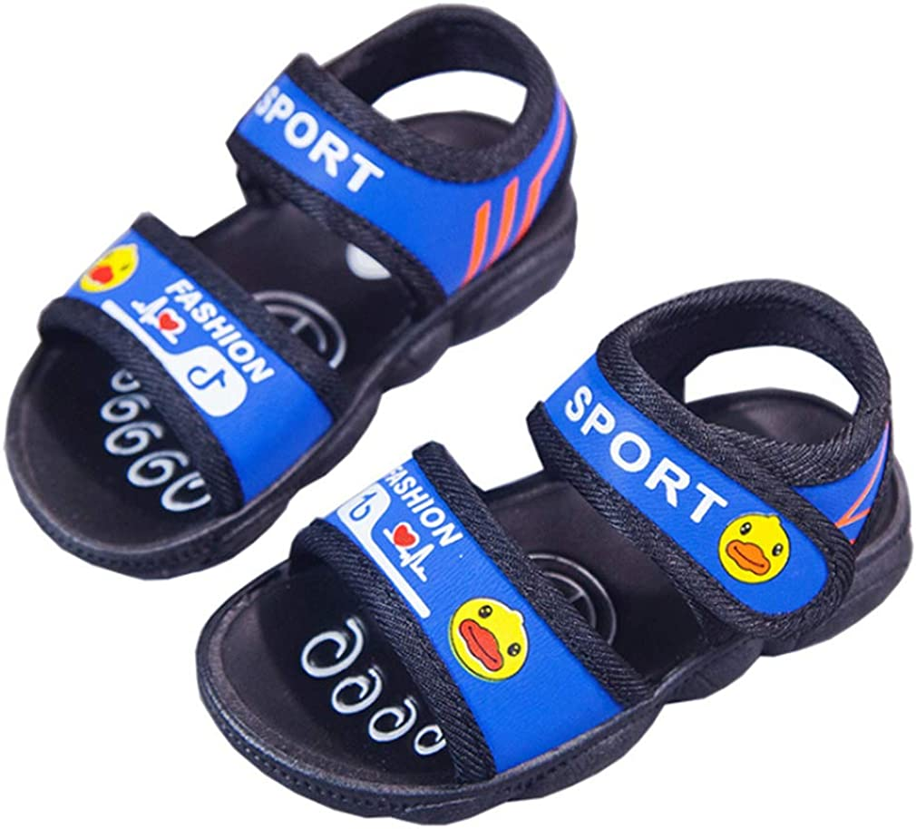 Cdon Girls Boys Athletic Sports Sandals Open-Toe Breathable Beach Water Shoes