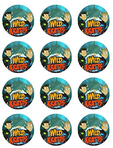 Price comparison product image Wild Kratts Cupcake Toppers - Set of 12