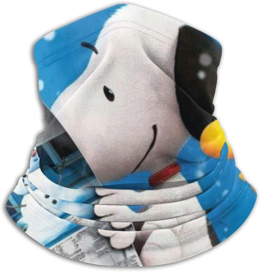 HUHAOCZ Snoopy Woodstock - Máscara de cuello suave y agradable para la piel, protección para la cabeza, bandana de protección, superabsorbente de la humedad, gorro de bandana