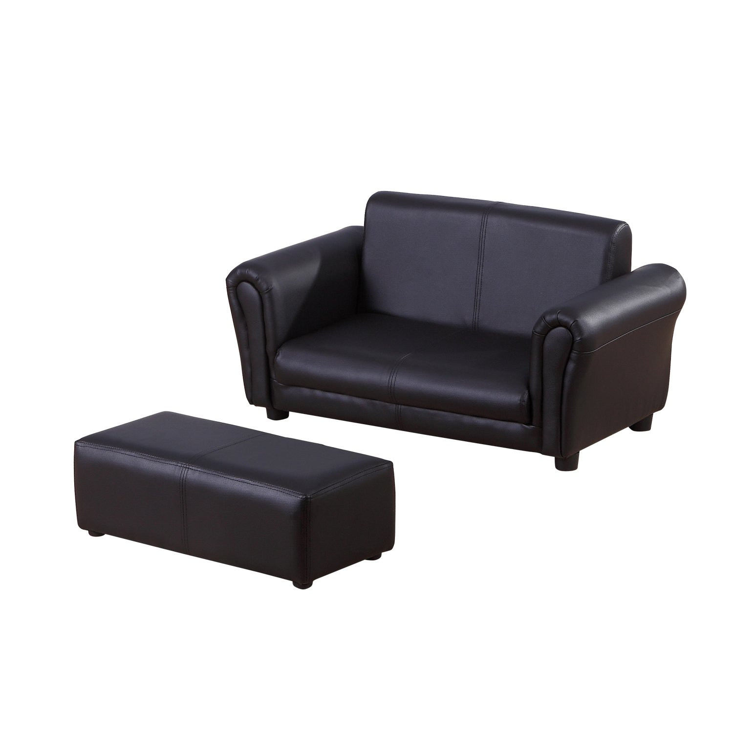 HOM 2 Seater Kids Twin Sofa Childrens Double Seat Chair