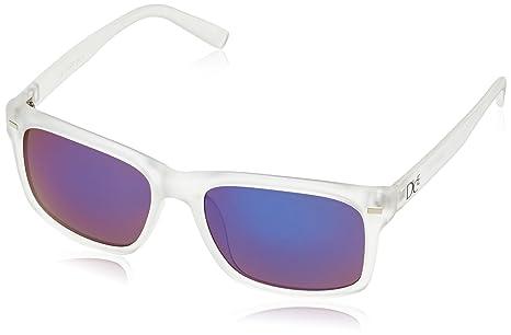 Dice occhiali da sole Unisex Multicolore Transparent/Blue Revo Taglia unica rGu27Gp