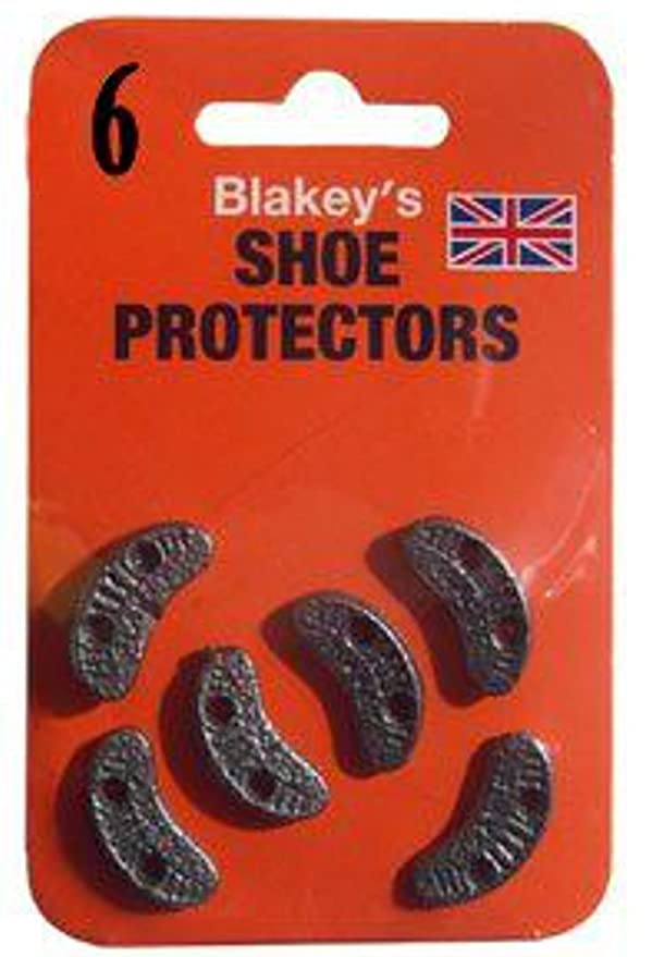 BLAKEYS METAL FOOTWEAR TOE HEEL SEGS SHOE BOOT SOLE SIZE 6 PROTECTORS HAMMER ON