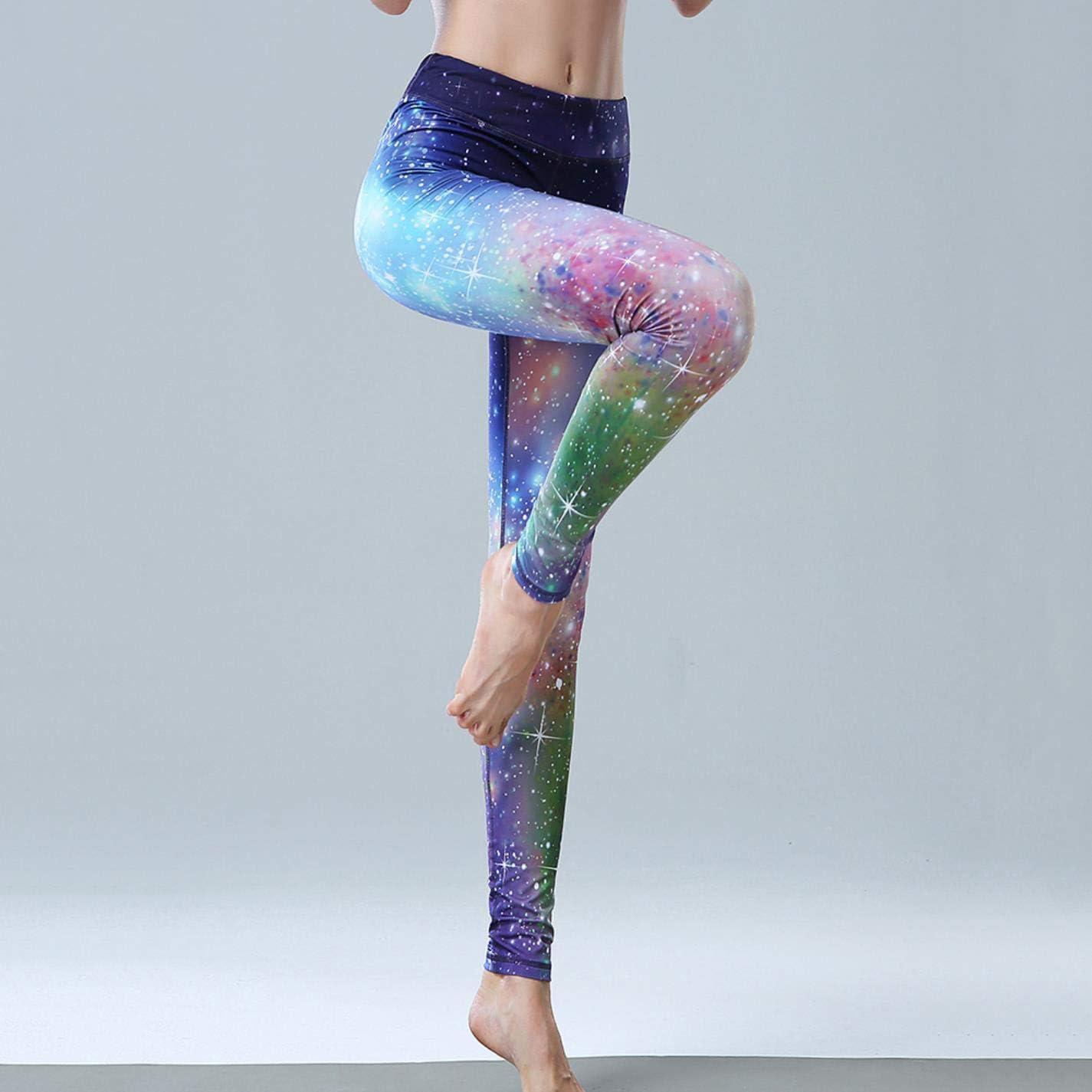 Amazon.com: BYBYFf Womens Yoga Sports Yoga Leggings Slim ...