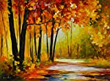 The Turn of Fortune is a Limited Edition print from the Edition of 400. The artwork is a hand-embellished, signed and numbered Giclee on Unstretched Canvas by Leonid Afremov. Embellishment on each of these pieces will be slightly different, but the i...