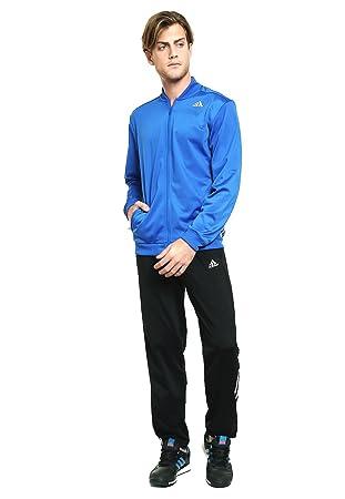 adidas TS ESS Kn Chandal, Hombre, Azul/Negro, S: Amazon.es ...