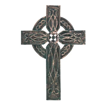 Gifts U0026 Decor Antiqued Rustic Celtic Old World Style Wall Cross