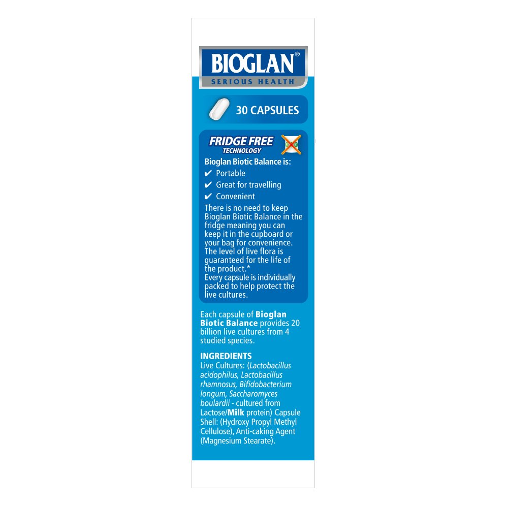 Bioglan Biotic Balance Ultimate Flora 20 Billion Cfu Live