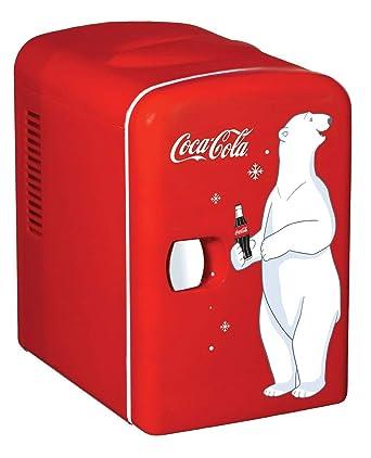 amazon コカコーラデザインミニ冷蔵庫 kwc 4 coca cola personal 6 can