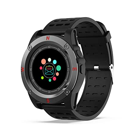 Amazon.com: Bluetooth Smart Watch ST5 con cámara Facebook ...